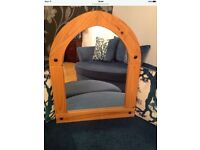 Large Solid Pine Mirror Living /Dining Room Hall Mirror Portadown £20