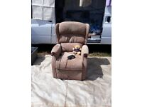 Reclining chair with lift out function