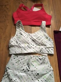 Brand new, Fabletics - high support sports bra x2 and leggings x1.