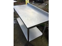Stainless Steal tables Joblot or single for sale