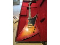 1981 Gibson Explorer E2 Electric Guitar Curly Maple Top with OHC