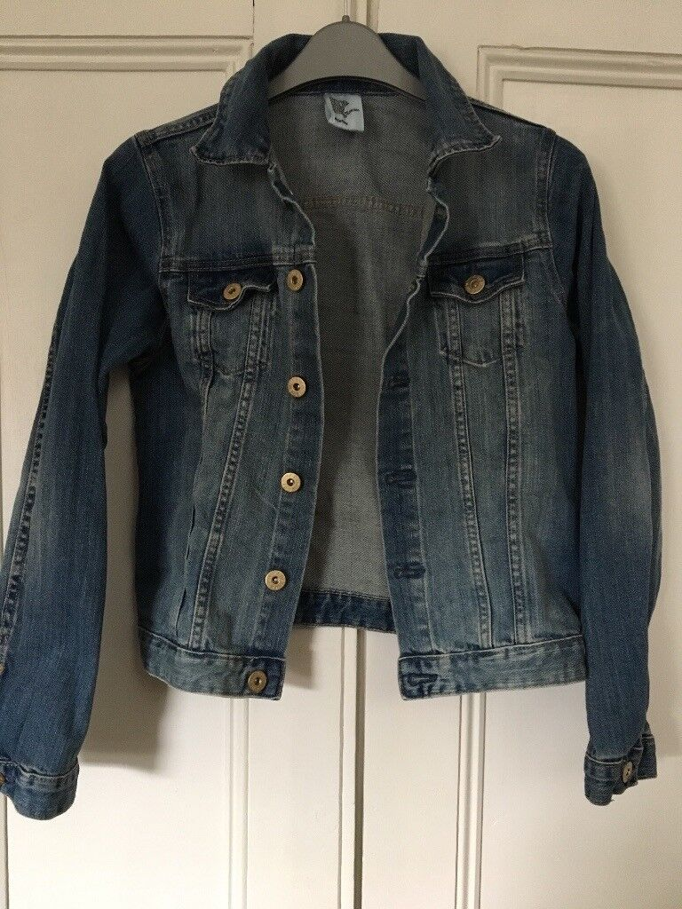 H&M Denim Jacket. Blue. Age 11-12. Excellent