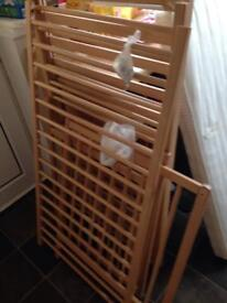 Mother care space saver cot