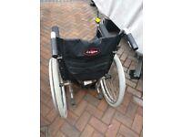 Enigma Aluminium Wheelchair - Large wheels