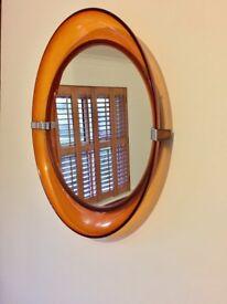 Retro vintage hall mirror