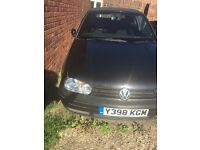 VW golf 2.0 soft top for sale