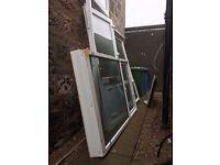 DOUBLE GLAZED WINDOWS (2) & DOOR IN EXCELLENT CONDITION