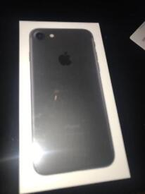 Brand new unlock to any network and unopened iPhone 7 32gb for sale