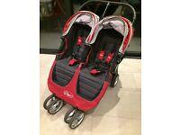 Baby Jogger City Mini Double pushchair (inc. 2xcosy toes & rain cover)