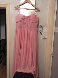 Pink prom dress size 14