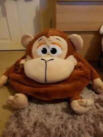 Big monkey toy stuffer