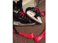 Sellling my sons old skates used but in good condition