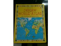 Usborne Jigsaw World Atlas