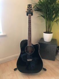 Takamine Acoustic Guitar with Original Case