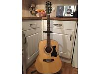 Ibanez 12 string semi acoustic guitar