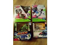Air Hogs, Alien Mission and RC Helicopter Boys Toys Bundle
