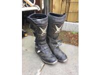 Oxtar motocross Mx boots