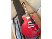 Epiphone by Gibson Les Paul Studio Electric Guitar, Korean Unsung & Case - CAN DELIVER
