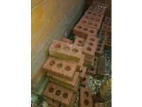 Red perforated Engineering Bricks