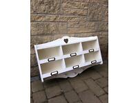 White Coat Rack/Organiser