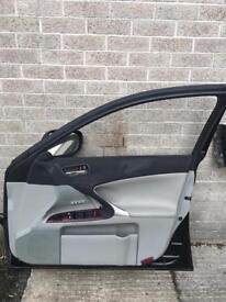 Lexus is220 is250 driver side complete door with mirror
