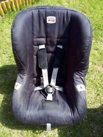 Britax eclipse childs car seat black