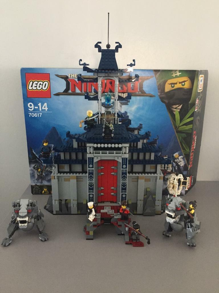 lego ninjago movie temple of the ultimate ultimate weapon