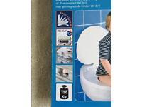 Toddler family toilet seat