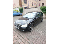Vauxhall Corsa 1.2 SXI 16V 2004 Manual Petrol Black 3dr LONG MOT LOW MILES 46500 MILES