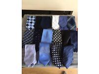 Men's ties. Vintage mostly silk