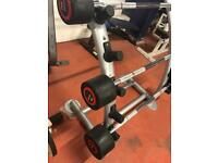 Escape fixed barbell set 20-30-40kg and rack