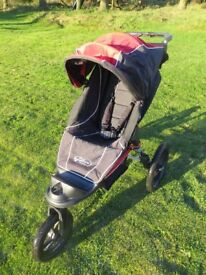 Baby Jogger Summit XC - Off-road or jogging pushchair, very good condition