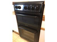 Hotpoint electric cooker - spotless, John Lewis service plan included