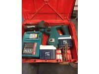 Makita 24v sds BHS 200 cordless drill/breaker