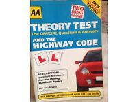 Theory test and the Highway Code