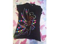 Tinkerbell tshirt size 8