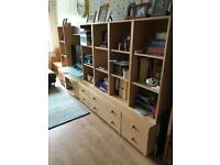 Storage living furniture