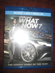 Kevin Hart: What Now? (Blu Ray + DVD) Comedy Movie Film. Starring Kevin Hart, Halle Berry, Don Cheadle, Ed Helms, David