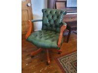 Leather Directors Swivel Chair