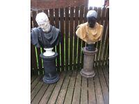 Marble garden / patio statue