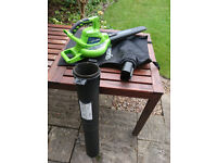 Greenworks 40V Li-ion leaf blower and vacuum