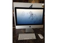 "iMac 21.5"" 2.7Ghz Quad core i5 processor. Immaculate, includes Apple wireless keyboard & mouse."