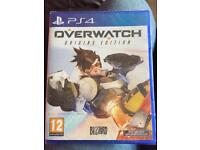Brand new sealed Overwatch PS4 game