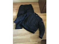 RST Blade textile motorcycle suit with armour