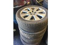 """Toyota avensis ryer and alloy wheels 205/45/R17"""""""