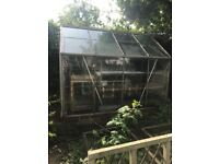 Large green house very good condition 8ft x 6.5ft x 6.5ft
