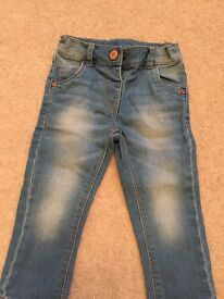 Girl's Next Jeans 12-18 months