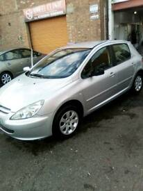 £300 TodayPeugeot 307 2.0 hdi 90 2004 53 plate