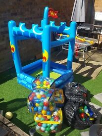 ELC Inflatable ball/paddling pool with balls