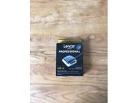 CARD READER LEXAR USB 3.0 DUAL SLOT READER - NEW !